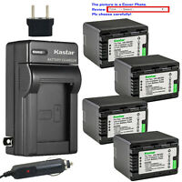 Kastar Battery AC Travel Charger for Panasonic VW-VBK360 & HDC-TM90 HDC-TM90GK