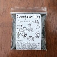 100% Organic Compost Tea for 10 plants