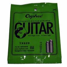 Orphee TX620 10 - 47 Extra Leggero Corde Per Chitarra Acustica 5.99 UK