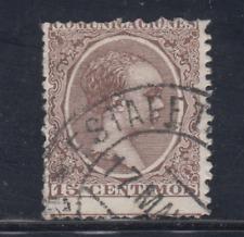 ESPAÑA (1889/01) USADO - EDIFIL 219 (15 cts) ALFONSO XIII - LOTE 1
