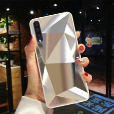 Glossy Mirror Luxury Texture Diamond Case For Samsung Galaxy S10/A50/A70 Cover