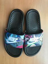 Nike Benassi JDI Print Women's Slides Sandals Slippers House Shoes Flip flop