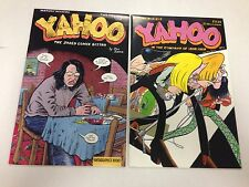Yahoo #1 #2 by Joe Sacco Fantagraphics The Jaded Comix Bistro