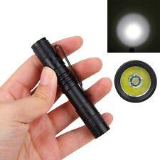 Portátil 500LM XP-1 AAA XPE-R3 LED Clip Mini Penlight Flashlight Torch Light