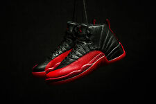 AIR JORDAN 12 RETRO 'BRED'  'FLU GAME'