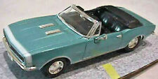 1967 Chevrolet Camaro SS 396 Convertible, 1:43rd Scale Diecast
