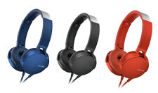 Sony MDR-XB550AP EXTRA BASS Headphones w/Mic Assorted Colors