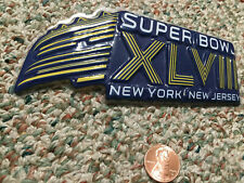 Vintage 2014 Super Bowl Xlviii New York - New Jersey, Collectible Plastic Sign