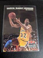 1992 SkyBox USA Basketball #35 Magic Johnson/NBA Shooting
