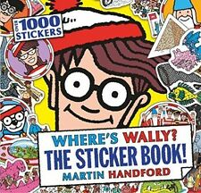 Where's Wally? The Sticker Book! by Martin Handford (Paperback, 2015)