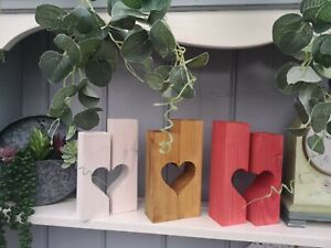 Heart Tea Light Candle Holders