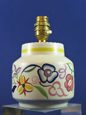 Vintage 1950's Poole Pottery Lamp Base ~ CS Pattern ~ Diane Holloway