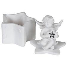 Petite boite à dents de lait blanche Ange