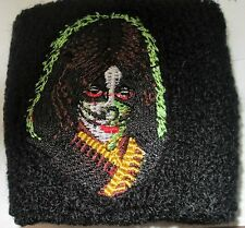 KISS WRIST BAND  EMBROIDED LATE 90's METAL LIVE PETER VINTAGE COLLECTABLE