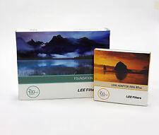 Lee Filters titular de la Fundación Kit + 67mm estándar Anillo Adaptador. nuevo
