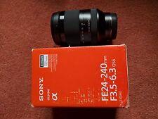 Sony FE 24-240mm f/3.5-6.3 OSS Obiettivo F3.5-6.3 SEL24240