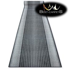 THICK Runner Rugs CAPITOL grey modern NON-slip Stairs Width 67-100 extra long