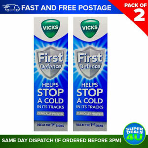 2 x Vicks First Defence Nasal Spray 15ml