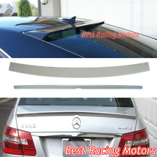 A Style Trunk + Lor Roof Spoiler Wing (ABS) Fit 09-16 Mercedes-Benz W212 E-Class