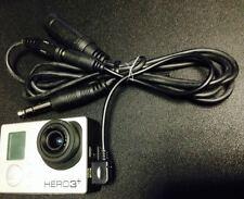 Audio Cable 552 atc integral PJ headset cam jack FOR Gopro HD Hero4 Black Camera