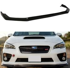 Fits For 15-17 Subaru WRX STI CS Style Front Bumper Lip Spoiler Body Kit PU