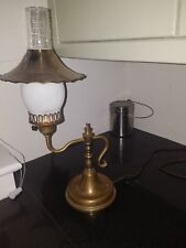 Beautiful Antique Working Student Table Lamp