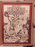 Jack Kirby Kamandi The Last Boy On Earth Volume 1 Artist's Edition HC IDW 12x17