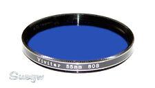 55mm Vivitar 80B Lens Filter