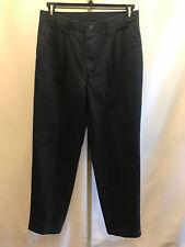 Men's  Lee Performance Khakis Blue Dress Pants Slacks Pleats 32 x 32 B3
