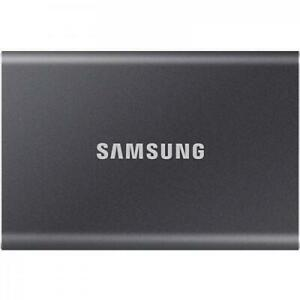 Samsung T7 2TB Portable SSD ,  USB 3.2 Gen2 (10Gbps)  , Up to 1050MB/s, Password
