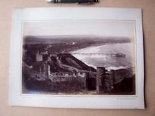 Scarborough North Bay Promenade    . Victorian Photograph mounted on album card