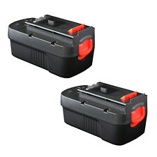 2 x 18V 3.0AH Ni-MH Battery for Black & Decker Firestorm 18 Volt Cordless Drill