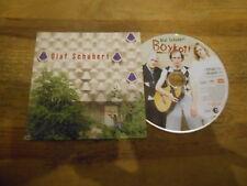 CD Comedy Olaf Schubert-BOYCOTT (2 chanson) PROMO BMG BERLIN musique CB