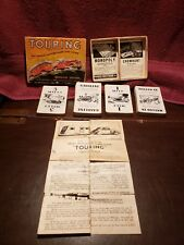 Vintage Touring The Famous Automobile Card Game Parker Brothers Improved Edition