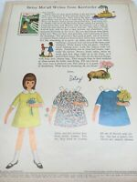 1959 VINTAGE BETSY MCCALL WRITES FROM KENTUCKY PAPER DOLLS UNCUT UNUSED