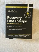 Parasilk Heated Boot Treatment 1 Pair Performance Recovery Foot Therapy New