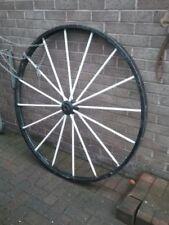 Antique Cast Iron Garden Wheels