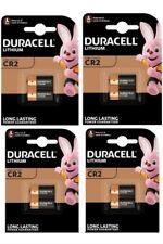8 x Duracell Ultra CR2 3V Lithium Photo Battery DLCR2 ELCR2 CR15H270 Exp 2028