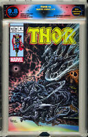🔥 Thor 6 Holtz Cates Winter ELITE trade Homage Variant EGS 9.8 Not CGC IN HAND