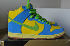 "2008 Nike dunk high pro sb ""marge simpson"" 305050 731 US10 Gold Box RARE"