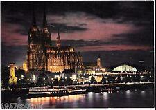 Koln Am Rhein Church Cathedral Cologne Germany Oversize vintage postcard NOS c