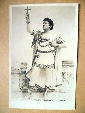 1900s Used Postcard- Actors WILSON BARRETT, No. 104D+ Stamp
