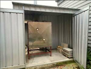Gas Pottery Kiln and Kiln shed  - Compliant for install in suburban yard