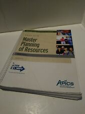 """APICS CPIM Master Planning of Resources Study Notes 2010 """"Good"""" Free Ship"""