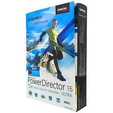 CyberLink PowerDirector 15 Ultra (DVD) Video Editors