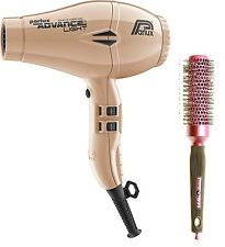 Parlux Advance Light Ionic and Ceramic Hair Dryer Light Gold + Free Brush