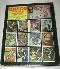 GRECO Mythology Game of Skill and Chance BINGO-Style