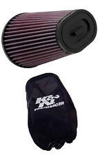 K&N ATV Filtro De Aire + Precargado 1987-2006 Yamaha YFZ350 Banshee YA-3502