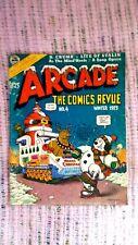 VINTAGE ARCADE (THE COMICS REVUE) #4 WINTER 1975: VERY GOOD CONDITION