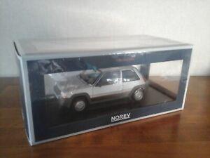 Bien lire l'annonce RENAULT 5 GT turbo phase 1 de 1985 grise  NOREV 1/18e 185209